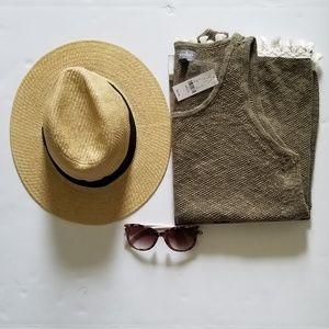 New York and Company Tassel Tank and Sunglasses
